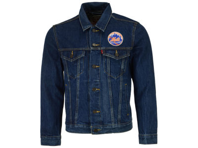 New York Mets Levi's MLB Men's Denim Trucker Jacket