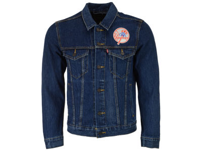 New York Yankees Levi's MLB Men's Denim Trucker Jacket