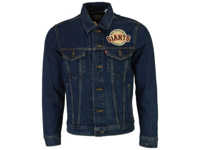 San Francisco Giants Levi's MLB Men's Denim Trucker Jacket