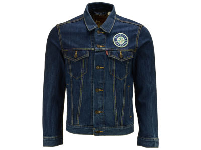 Seattle Mariners Levi's MLB Men's Denim Trucker Jacket