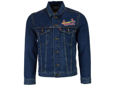 St. Louis Cardinals Levi's MLB Men's Denim Trucker Jacket