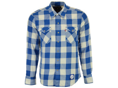 Los Angeles Dodgers Levi's MLB Men's Levis Buffalo Western Shirt