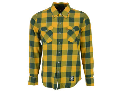 Oakland Athletics Levi's MLB Men's Levis Buffalo Western Shirt
