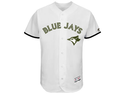 Toronto Blue Jays Majestic MLB 2017 Men's USMC Cool Base Jersey