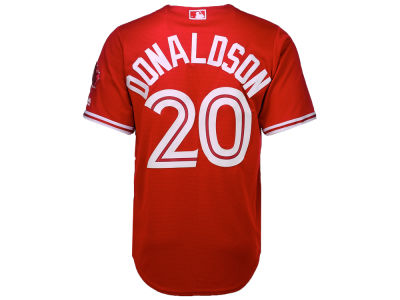 Toronto Blue Jays Josh Donaldson Majestic MLB Men's Cool Base Replica Jersey