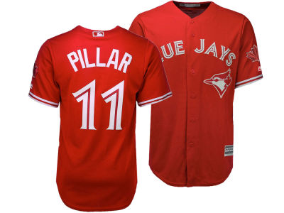 Toronto Blue Jays Kevin Pillar Majestic MLB Men's Cool Base Replica Jersey