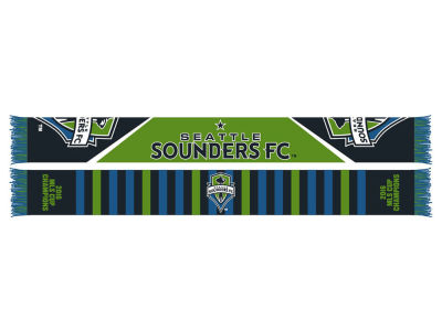 Seattle Sounders FC 2016 MLS Cup Champ Scarf