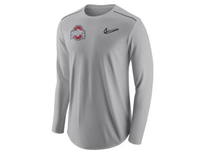 Ohio State Buckeyes Nike 2017 NCAA Men's College Football Playoff Long Sleeve Pregame Shirt