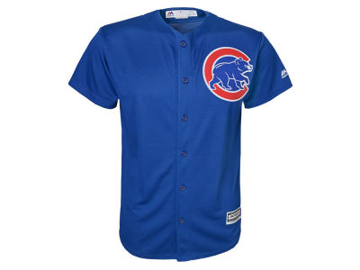 Chicago Cubs Majestic MLB Kids Blank Replica Cool Base Jersey