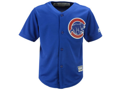 Chicago Cubs Majestic MLB Toddler Blank Replica Cool Base Jersey