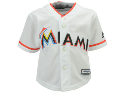 Miami Marlins Majestic MLB Infant Blank Replica CB Jersey