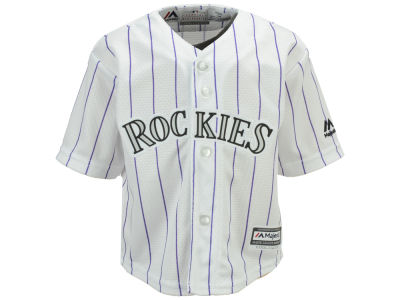 Colorado Rockies Majestic MLB Infant Blank Replica CB Jersey