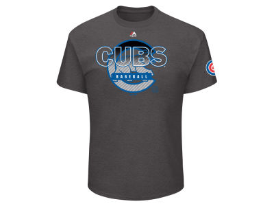 Chicago Cubs Majestic MLB Men's Free Agent T-Shirt
