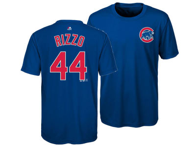 Chicago Cubs Anthony Rizzo Majestic MLB Youth Poly Player T-Shirt