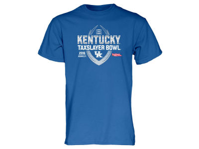 Kentucky Wildcats Blue 84 NCAA Men's 2016 TaxSlayer Bowl T-Shirt