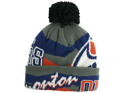 Edmonton Oilers Outerstuff NHL Youth Player Cuffed Pom Knit
