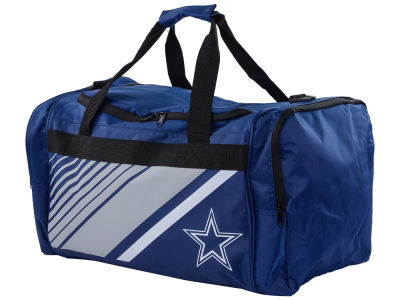 Dallas Cowboys Border Stripe Duffle Bag