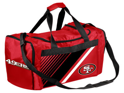 San Francisco 49ers Border Stripe Duffle Bag