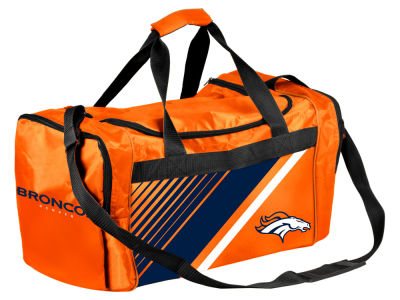 Denver Broncos Border Stripe Duffle Bag