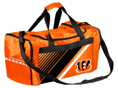 Cincinnati Bengals Border Stripe Duffle Bag