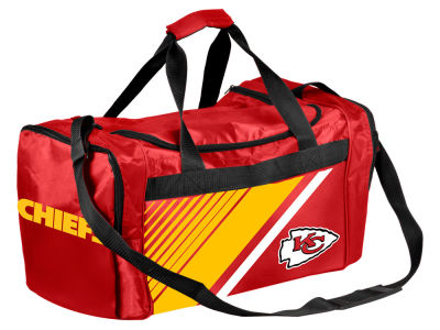 Kansas City Chiefs Border Stripe Duffle Bag