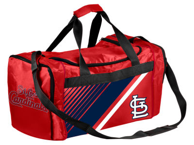 St. Louis Cardinals Border Stripe Duffle Bag