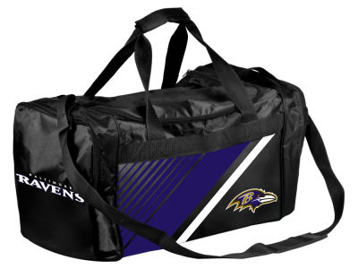 Baltimore Ravens Border Stripe Duffle Bag