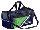 Seattle Seahawks Forever Collectibles Border Stripe Duffle Bag Luggage, Backpacks & Bags