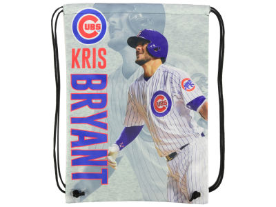 Chicago Cubs Kris Bryant Player Printed Drawstring Bag