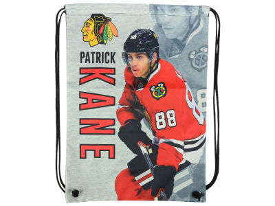 Chicago Blackhawks Patrick Kane Player Printed Drawstring Bag