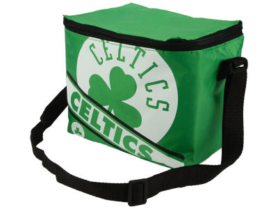 Boston Celtics 6-pack Big Logo Stripe Lunch Cooler