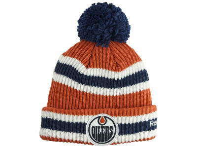 Edmonton Oilers Outerstuff NHL Youth Cuffed Pom Knit