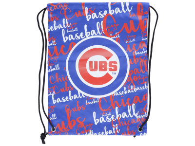 Chicago Cubs Forever Collectibles Women's Script Drawstring Backpack