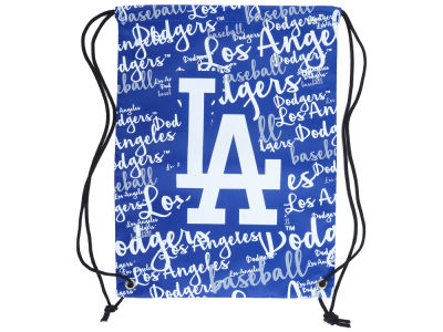 Los Angeles Dodgers Women's Script Drawstring Backpack