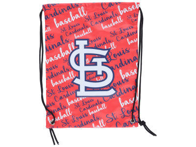 St. Louis Cardinals Forever Collectibles Women's Script Drawstring Backpack