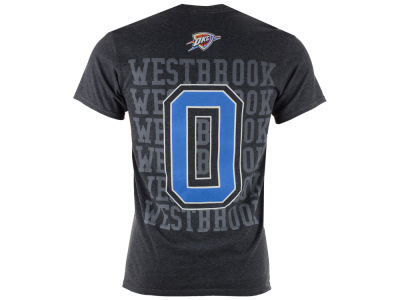 Oklahoma City Thunder Russell Westbrook NBA Men's Name & Stars T-shirt