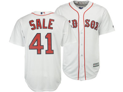 Boston Red Sox Chris Sales Majestic MLB Men's Player Replica CB Jersey