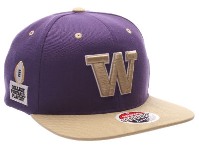 Washington Huskies Zephyr NCAA College Football Playoff Patch Cap