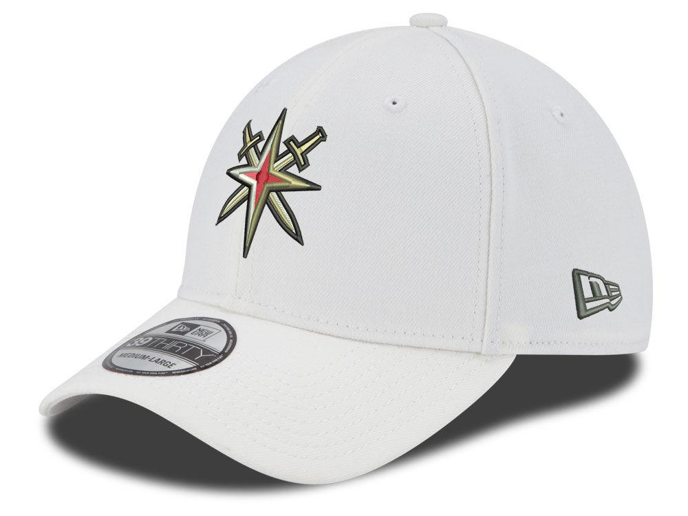 Vegas Golden Knights New Era NHL 39THIRTY Cap  ec4463552e3d