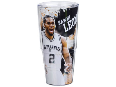 San Antonio Spurs Kawhi Leonard 24oz Player Wrap Tumbler