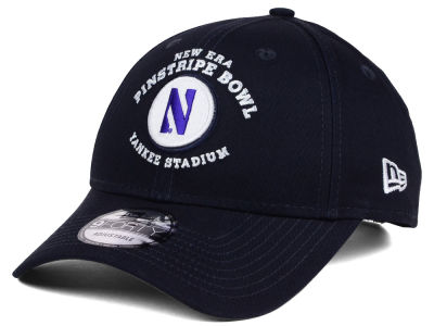 Northwestern Wildcats New Era NCAA 2016 Pinstripe Bowl Participant 9FORTY Adjustable Cap