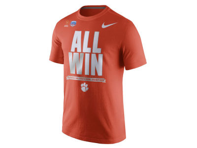 Clemson Tigers Nike NCAA Men's College Football Playoff Fiesta Bowl Champ T-Shirt