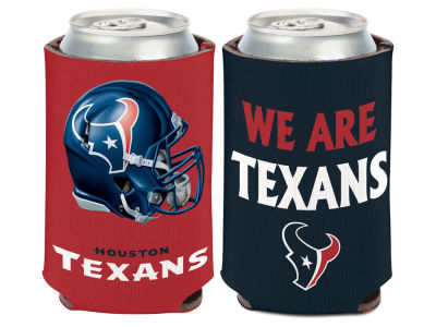 Houston Texans Slogan Can Coozie