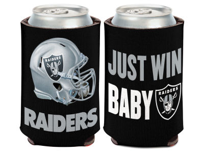 Oakland Raiders Slogan Can Coozie