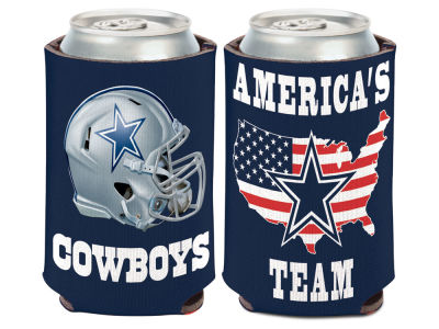 Dallas Cowboys Slogan Can Coozie