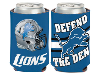 Detroit Lions Slogan Can Coozie