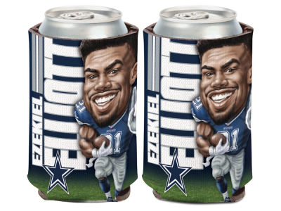 Dallas Cowboys Ezekiel Elliott Caricature Coozie