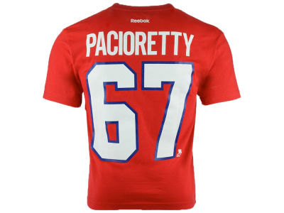 Montreal Canadiens Max Pacioretty w/ C Reebok NHL CN Youth Player T-Shirt