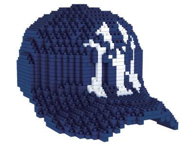 New York Yankees BRXLZ 3D Baseball Cap Puzzle
