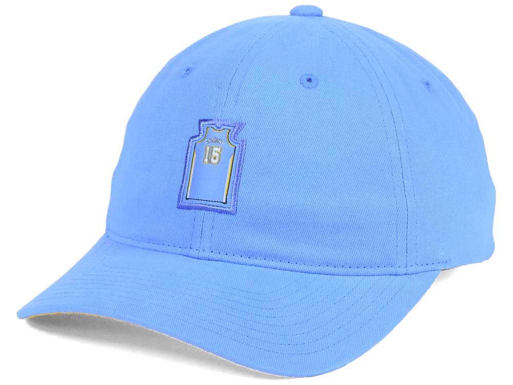 Denver Nuggets Mitchell   Ness NBA Deez Jersey Dad Hats  867a12d52ebf